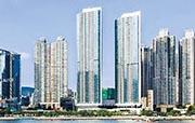 萬科置業海外在2013年初來港時,與新世界以34億元奪得荃灣西站六區限呎地,即現時柏傲灣;目前該項目由萬科置業海外持股20 % 。(資料圖片)