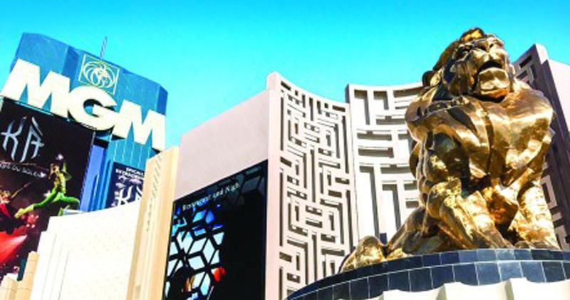 美高梅中國去年收益淨額增32%。