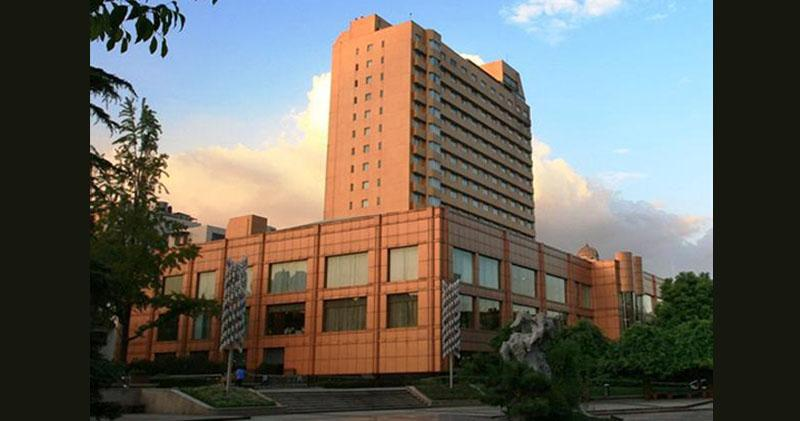 浙江開元酒店擬本月路演 下月中掛牌 集資逾10億。圖為浙江開元蕭山賓館。(網上圖片)