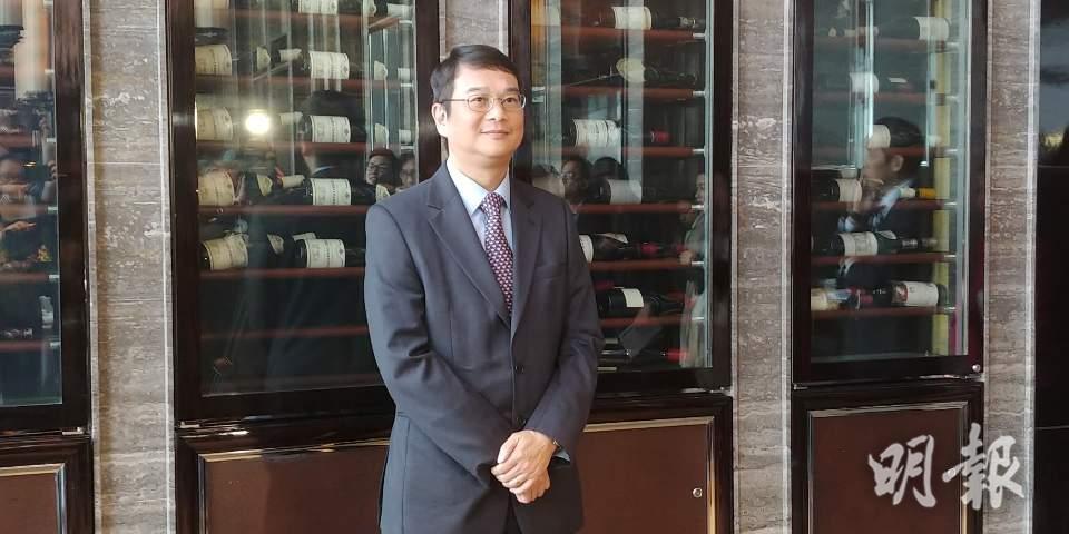 龍湖香港項目總經理邱啟章(林尚民攝)
