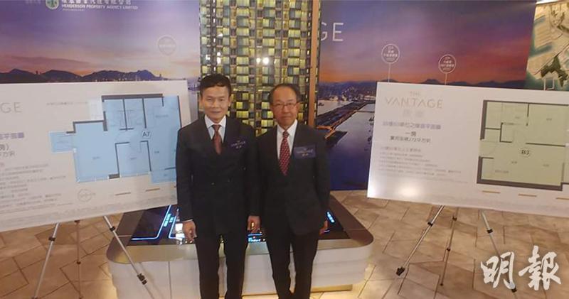 林達民(左)(林尚民攝)