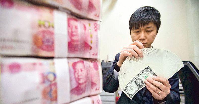 外電指美國要求中國維持人幣匯率穩定 離岸價升穿6.72