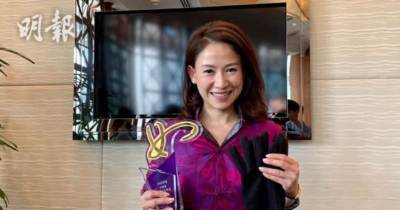 早前林曉盈獲得「2018年度大灣區傑出女企業家獎」