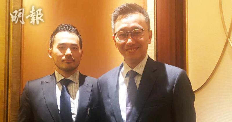 左起:施羅德北亞區產品業務主管多元化資產于學宇、施羅德投資管理亞洲及新興市場信用債券主管許子峰