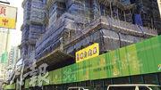 區內近年有多個重建項目,今年長實將會推出市建局海壇街項目,將設有876個單位。(楊柏賢攝)
