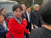 全國政協委員、新地(0016)主席兼董事總經理郭炳聯(右二)。(李哲毅攝)