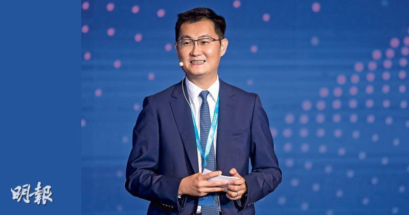 全國人大代表、騰訊(0700)主席兼首席執行官馬化騰。(資料圖片)