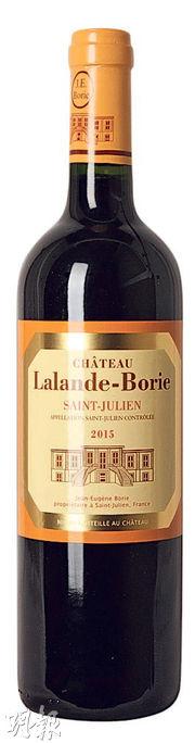 這款2015 Saint-Julien村酒,口感柔潤果香濃郁,大比例的梅樂發揮了它的魅力。