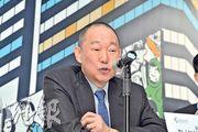 利福國際主席劉鑾鴻(圖)表示,SOGO銅鑼灣店容量有限,同店銷售增長呈單位數已「好唔錯」,並較看好尖沙嘴店的生意保持增長。(楊柏賢攝)