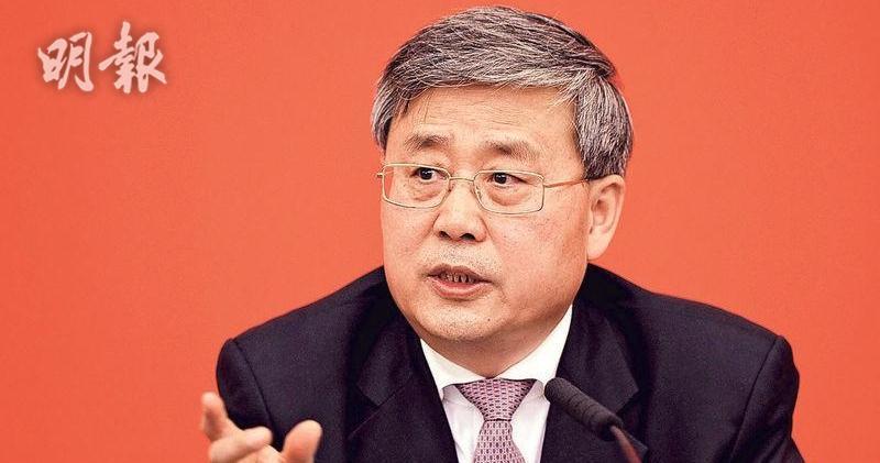 銀保監郭樹清:相信香港金融機構在內地大有作為(資料圖片)