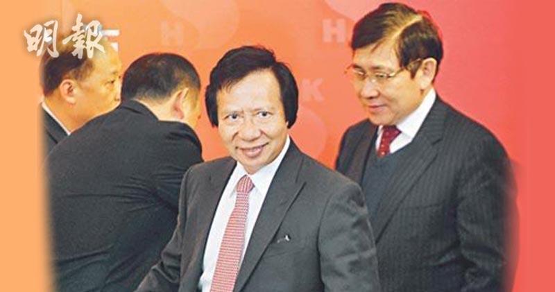 郭炳聯(右)表示,胞兄郭炳江(左)暫無計劃重返公司。(資料圖片)