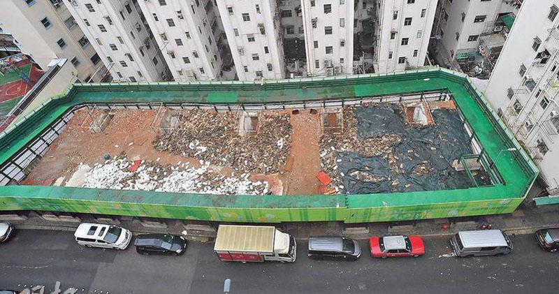 觀塘恒安街重建推出,下月十日截標。