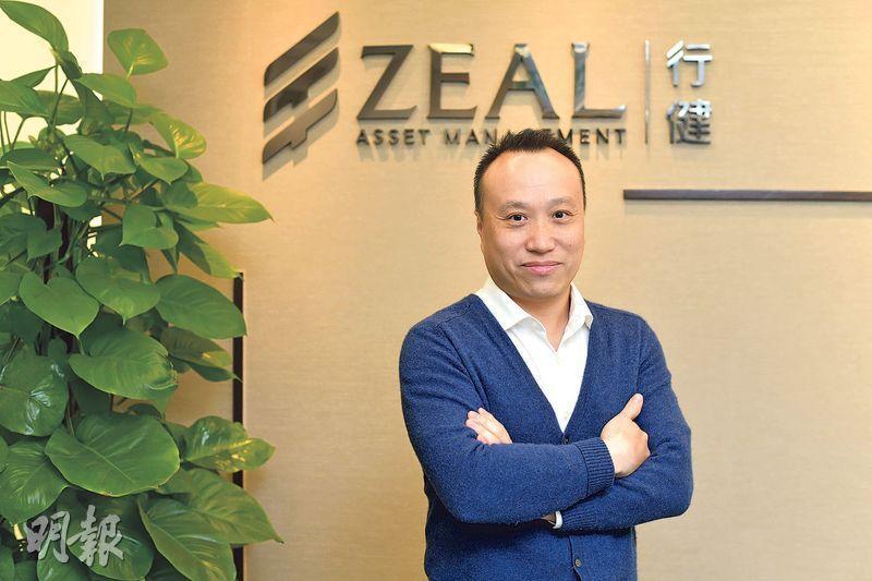 行健蔡雅頌指好公司在經濟調整期後強者愈強,市場現仍有不少價值投資機會。(鍾林枝攝)