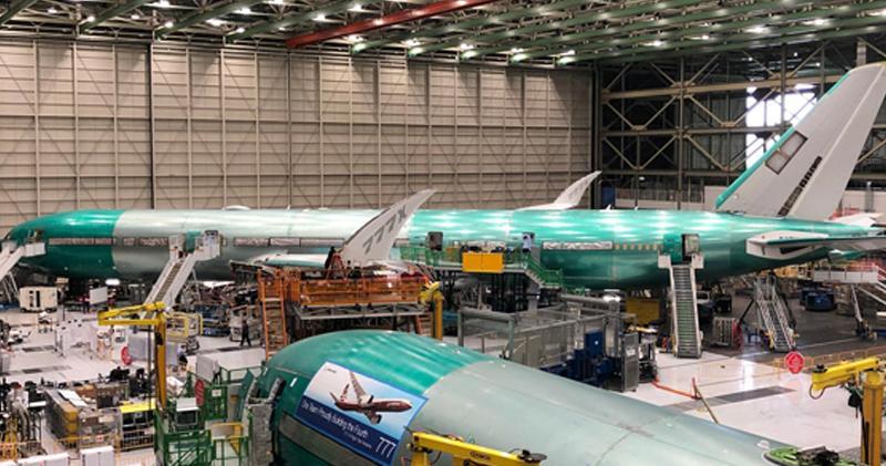 波音777 (網上圖片 )