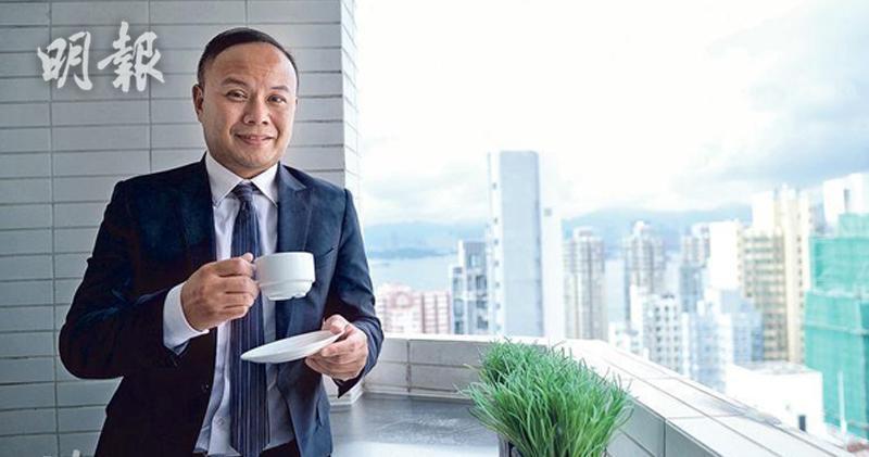 圖為興勝創建項目管理董事周嘉峰。(資料圖片)