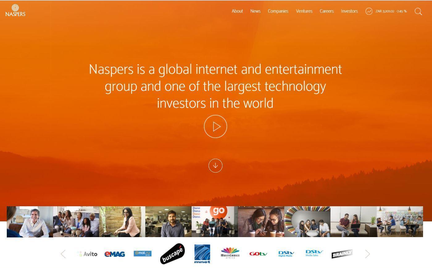 傳Naspers物色第二家騰訊 擬在印度投資78億