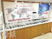 「安興號」位於上環永樂街的門市,亦設有一個小型的海參博覽館,展示不同品種的海參樣本和相片,以及介紹其產地等。