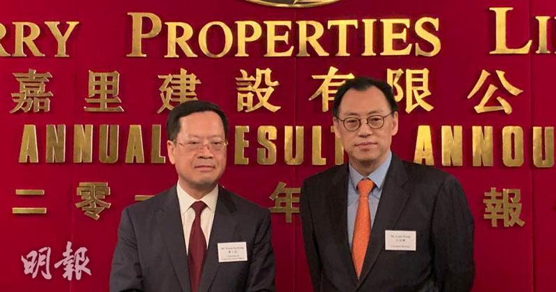 黃小抗(左)、王志剛(右)(方楚茵攝)