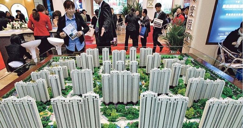 2月70大城市新建住宅售價按年漲一成 連升41個月