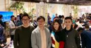 新世界發展營業及市務部總監黃浩賢(左二)表示,瑧尚或於日內加價加推。