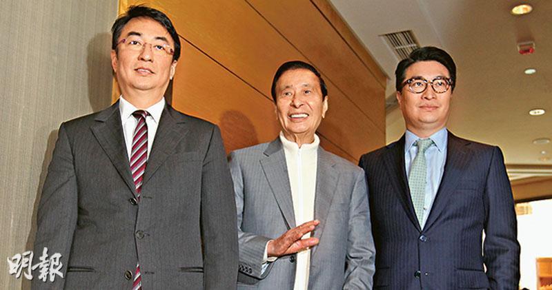 李兆基將退休 兩子同掌恒地  剛滿90歲  留任執董