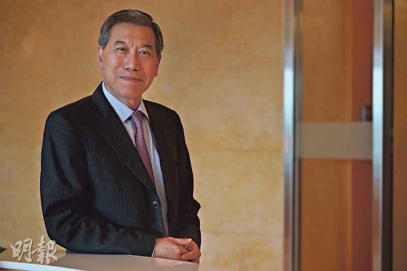 李寶安表示,TVB投資債券所得利息收入,已超過每年利息支出有餘。(曾憲宗攝)