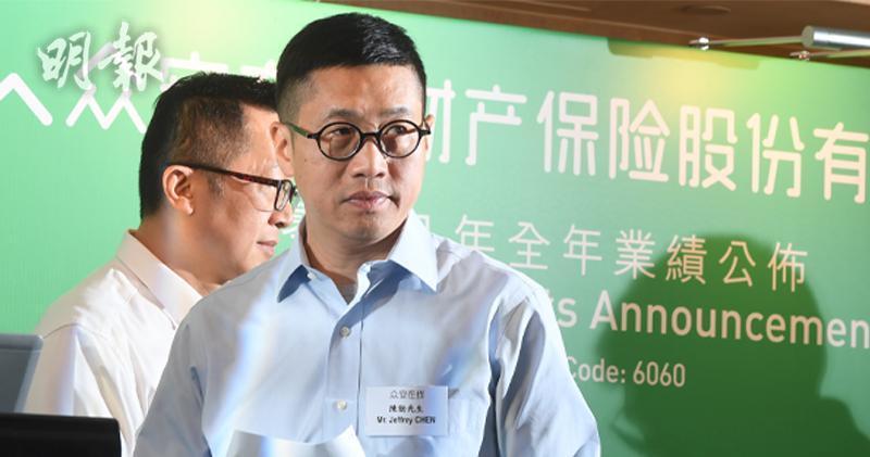 眾安在綫首席執行官陳勁(劉焌陶攝)