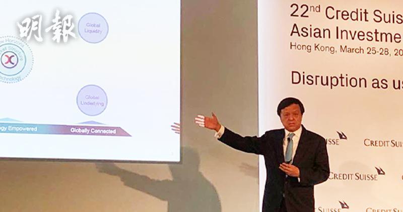 李小加:ETF通對中港有好處一定會做(陳惠茵攝)