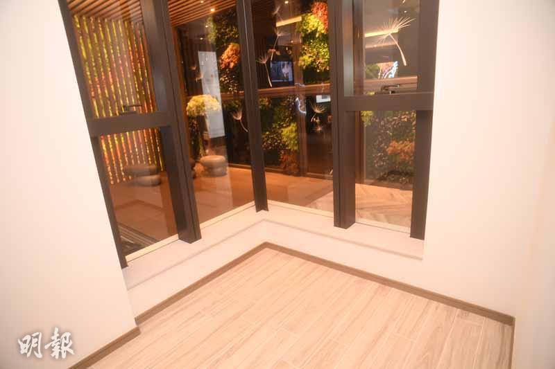 「家壹」首度開放展銷中心及示範單位(劉焌陶攝)