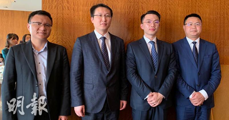 右二:陶宇、右三:陳志斌