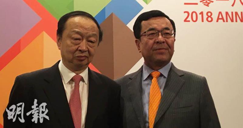 左起:董事長常振明、副董事長兼總經理王炯