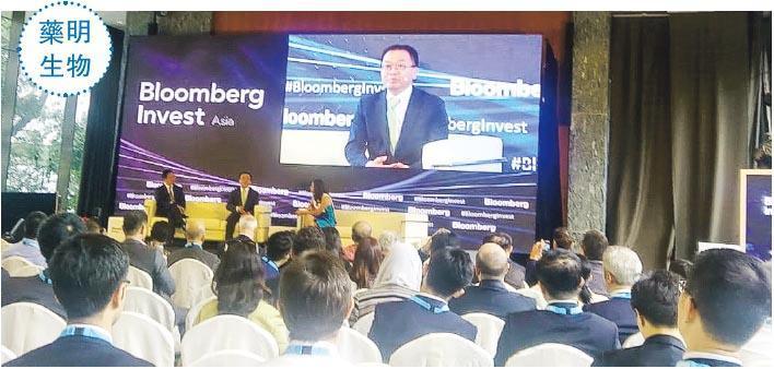 """"""" 很多投資者不看好中國生物科技企業,惟近兩年集團以亮麗的業績回應質疑。——藥明生物首席執行官陳智勝 """""""