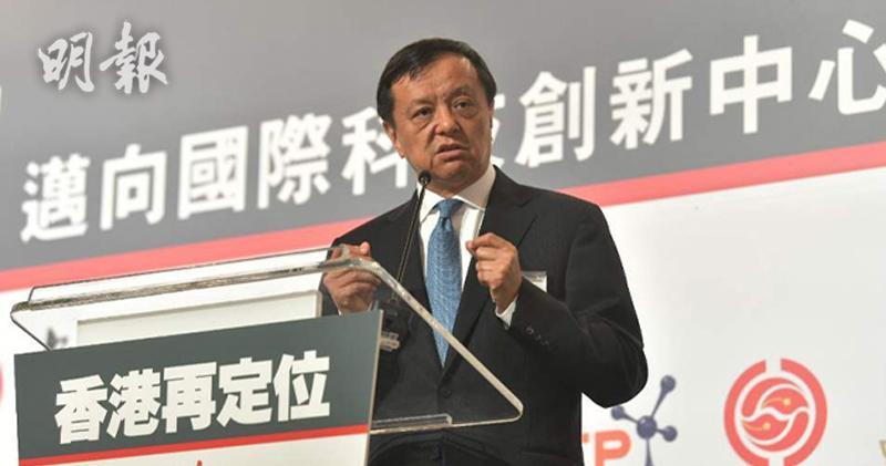 港交所行政總裁李小加(馮凱鍵攝)