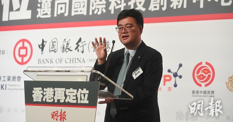 中銀香港(2388)營運總監鍾向群(鄧宗弘攝)