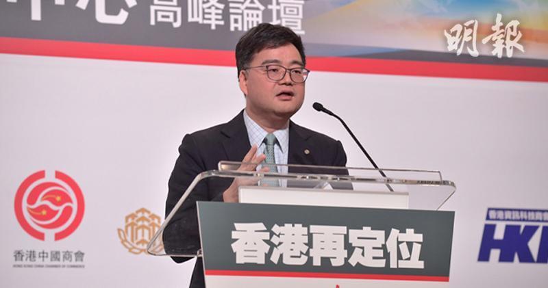 中銀香港營運總監鍾向群(楊柏賢攝)