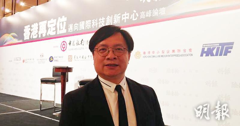 新世界營業及市務總監黃浩賢(林尚民攝)