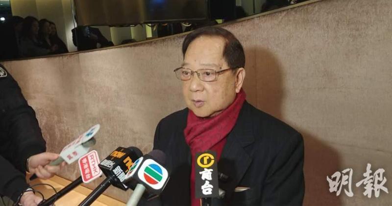 梁志堅表示,地建會今日開會,警告業界新盤勿過多招標。