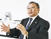 茂宸主席高寶明表示,目前每年在香港逾5000個不育症病人市場中,集團已佔逾三成市場佔有率。(劉焌陶攝)