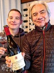 難得莊主 Nicolas Groffier 親自細數家傳釀酒工藝。有這款《愛侶園》一瓶在手,其實心一早就醉了飄飄然了。