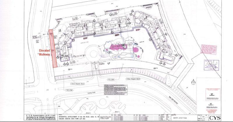 恒地馬適路項目申建1,807伙。(資料來自城規會文件)