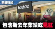 Bauhaus料去年度純利跌逾五成或轉虧
