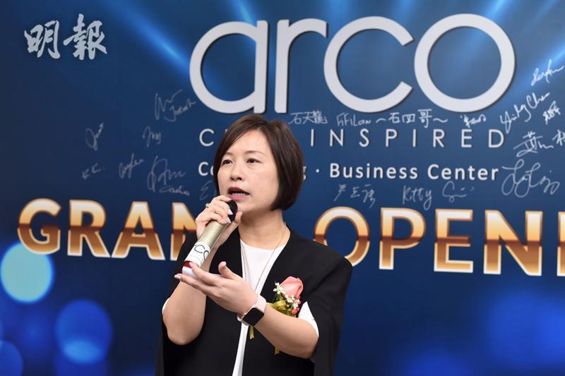ARCO總經理卓敏華(鍾林枝攝)