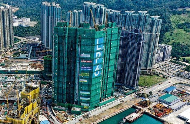 南豐表示,LP6昨售出49伙,其中有一組買家以公司名義斥資約2億元購入13個單位,料須繳付30%辣稅,涉約6000萬元。(楊柏賢攝)