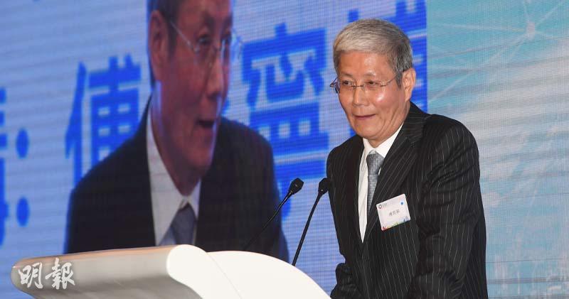 華潤集團董事長傅育寧(劉焌陶攝)