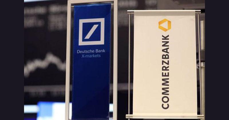 德國兩大銀行擱置合併 股價表現天與地