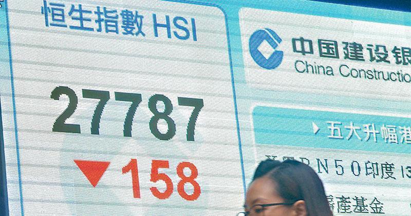 華為事件發酵  中資科技股洗倉  騰訊跌近4%  夜期再挫逾300點