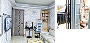 黃大仙下邨龍逸樓低層一個實用面積544方呎單位,獲綠表客以456萬元承接,實呎8382元,成全港最貴未補價公屋;單位內籠保養不俗,廚房、浴室狀况亦算企理。