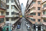 恒地紅磡「黃埔四街」項目位於機利士南路、必嘉街、黃埔街及寶其利街一帶,預計可建逾百萬萬方呎樓面。(鍾林枝攝)