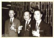 1963年,李兆基、郭得勝、馮景禧三人合組新鴻基,成為著名的「三劍俠」。(資料圖片)