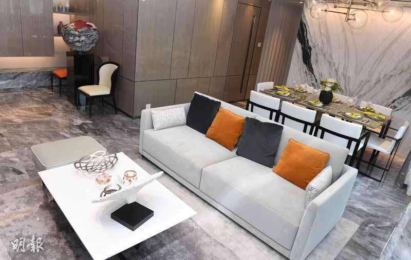 嘉里建設何文田住宅項目「皓畋」 公布最新銷售部署及開放全新連裝修單位(劉焌陶攝)